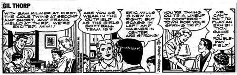 (Gil Thorp 97-03-27 comic strip)