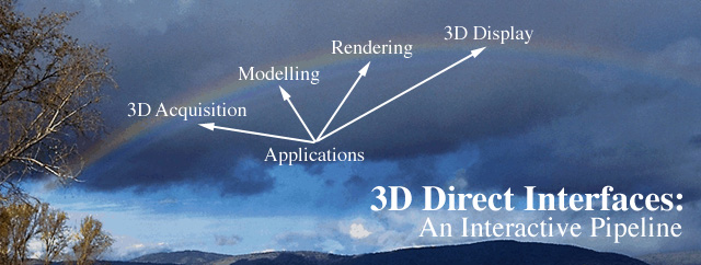 3D Direct Interfaces: An Interactive Pipeline