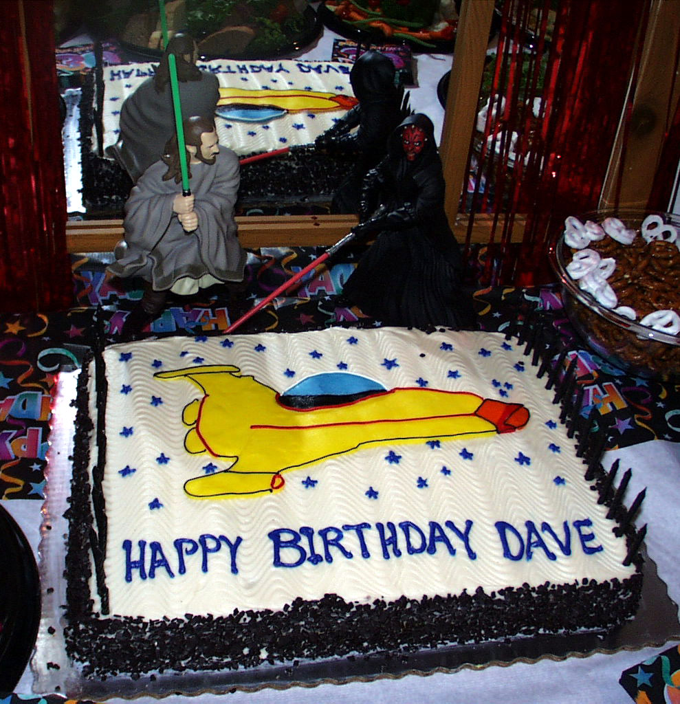 Daves Surprise Party