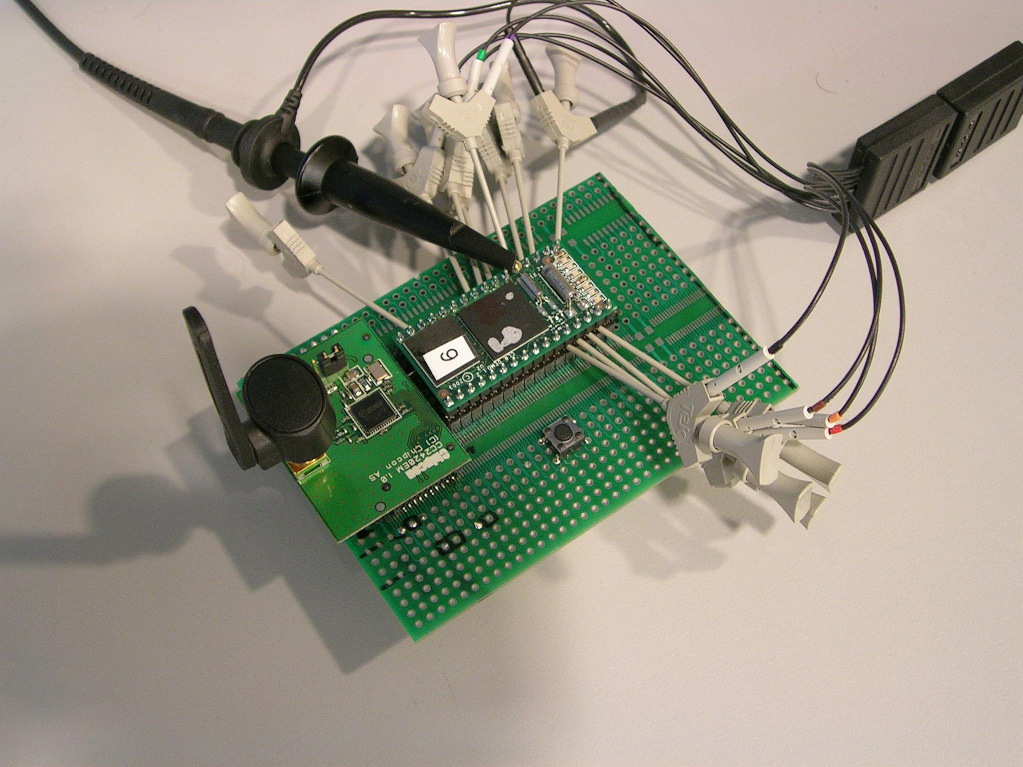 Prabal Dutta Projects Electronics Mini Circuit