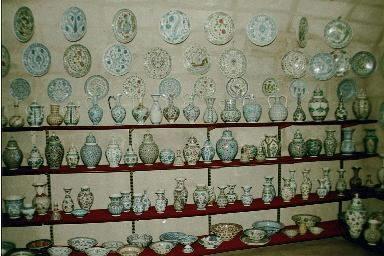 the ceramics factory