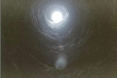 shaft in underground city