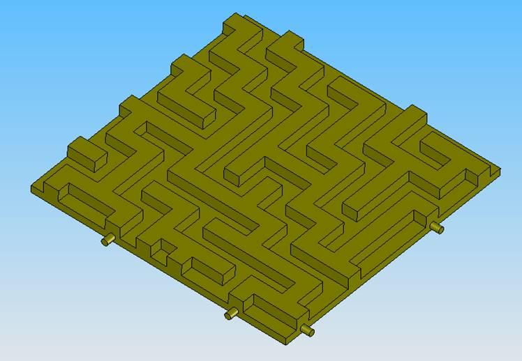 Procedural Design of Rolling Ball Maze